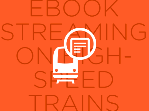 Ebook streaming on high-speed train